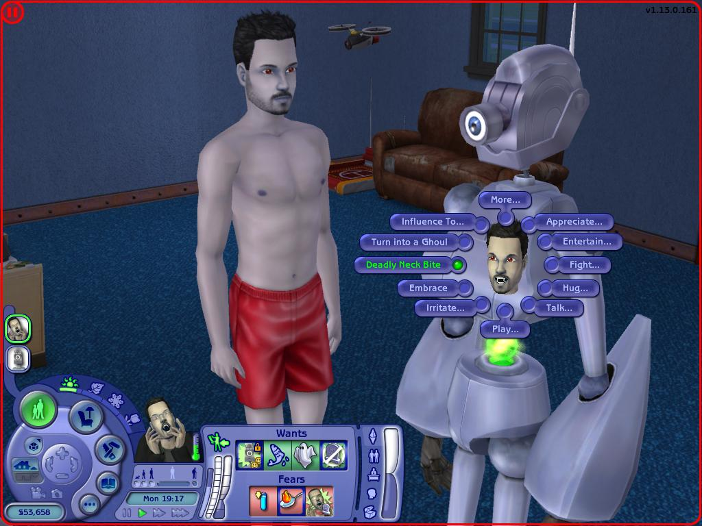 sims 2 how to become a vampire